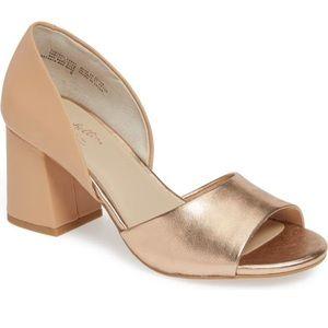 Metallic Seychelles Chunky Heel
